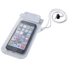 Mambo waterproof smartphone storage pouch in white-solid