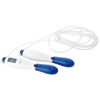 Frazier skipping rope with a counting LCD display in white-solid-and-blue