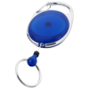 Gerlos roller clip keychain in blue