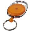 Gerlos roller clip keychain in orange