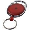 Gerlos roller clip keychain in red