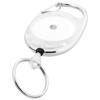 Gerlos roller clip keychain in transparent