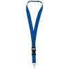 Yogi lanyard detachable buckle break-away closure in royal-blue