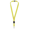 Gatto lanyard with break-away closure in lime