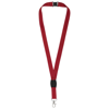 Gatto lanyard with break-away closure in red