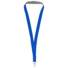 Aru two-tone lanyard with velcro closure in royal-blue
