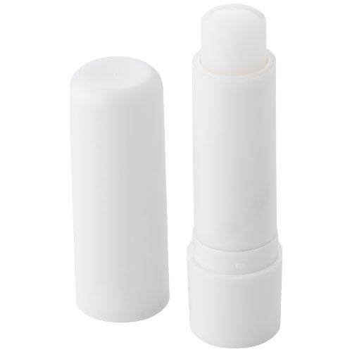 Deale lip balm stick in white-solid