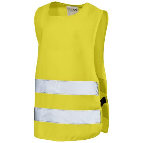 Children safety vest in yellow