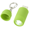 Avior rechargeable LED USB keychain light in green