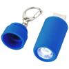 Avior rechargeable LED USB keychain light in light-blue