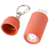 Avior rechargeable LED USB keychain light in red
