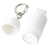 Avior rechargeable LED USB keychain light in white-solid