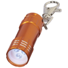 Astro LED keychain light in orange
