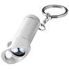 Lobster keychain light and bottle opener in silver