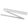 Monty 2 metre foldable ruler in white-solid