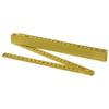 Monty 2 metre foldable ruler in yellow