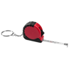 Habana 1M measuring tape key chain in red