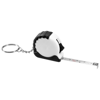 Habana 1M measuring tape key chain in white-solid