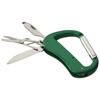 Canyon 5-function carabiner knife in green