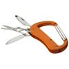 Canyon 5-function carabiner knife in orange