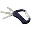 Canyon 5-function carabiner knife in royal-blue