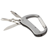 Canyon 5-function carabiner knife in silver