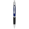Sobee triangular-shaped ballpoint pen in blue-and-black-solid