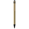 Salvador recycled ballpoint pen in natural-and-black-solid