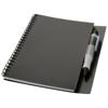 Hyatt notebook with pen in black-solid