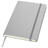 Classic A5 hard cover notebook in silver