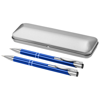 Dublin writing set in royal-blue-and-silver