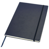 Executive A4 hard cover notebook in blue