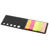 Fergason coloured sticky notes set in black-solid