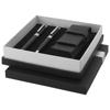 Ballpoint pen gift set in black-solid