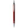 Madrid aluminium ballpoint pen in red