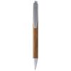 Borneo bamboo ballpoint pen in silver