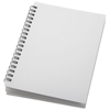 Duchess spiral notebook in white-solid