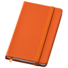 Rainbow small hard cover notebook in orange