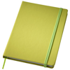 Rainbow Notebook M in lime-green
