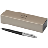 Jotter ballpoint pen in black-solid-and-silver