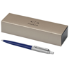 Jotter ballpoint pen in blue-and-silver