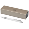 Vector ballpoint pen in white-solid-and-silver