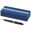 Expert ballpoint pen in black-solid-and-silver