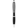 Mandarine stylus ballpoint pen in black-solid