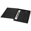Notebook gift set in black-solid