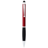 Ziggy stylus ballpoint pen in red-and-black-solid