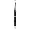Charleston stylus ballpoint pen in black-solid