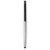 Naju stylus ballpoint pen with 4GB flash drive in silver