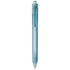 Vancouver recycled PET ballpoint pen in transparent-blue