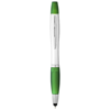 Nash stylus ballpoint pen and highlighter in green